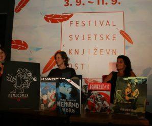 4.9.2015. tribina o ženskom stripu ~ festival svjetske književnosti