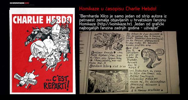 !! KOMIKAZE @ CHARLIE HEBDO