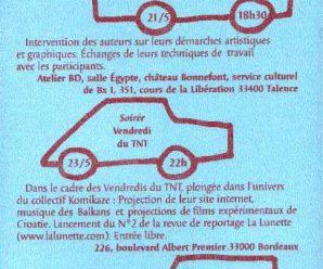 19.-23.5.2003. fotoreportaža: komikaze izložbe i radionice @ bordeaux