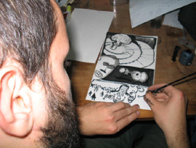 8.-11.10.2003. fotoreportaža: izložba, radionica, koncert @ šabac