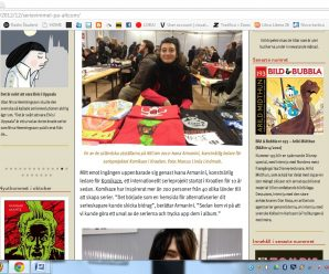 7.-11.11.2012. komikaze ~ altcom stripfestival, malmo