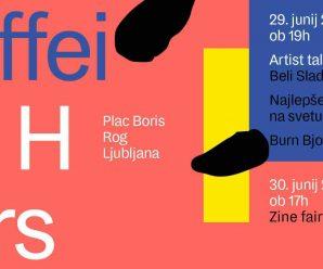 Caffeine Hours Zine Fair – Ljubljana, Slo 2016