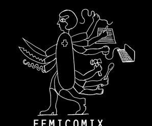 Femicomix mapa – strip posteri