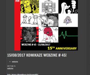 15/08/2017 KOMIKAZE WEBZINE # 45!