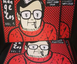 Mangelos / strip album, izložba @ MSU, Zagreb