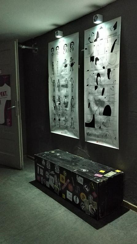 Komikaze Femicomix izložba @ Noise Mobility Festival - Minhen