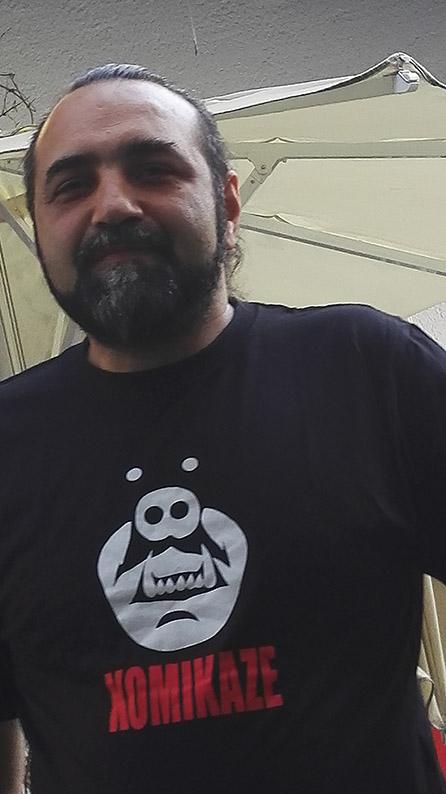 Festival director Časpa