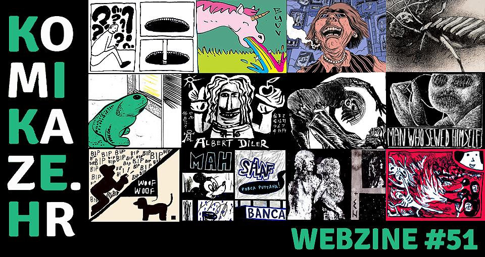 komikaze comic webzine 51_flayer