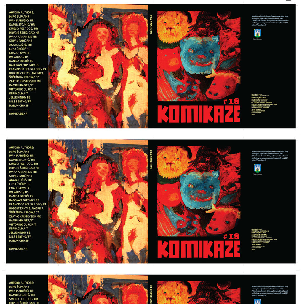 KOMIKAZE strip album_OMOT