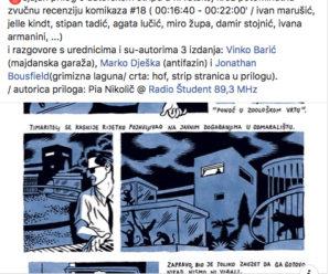 autorski strip/ cro @ radio študent/ slo