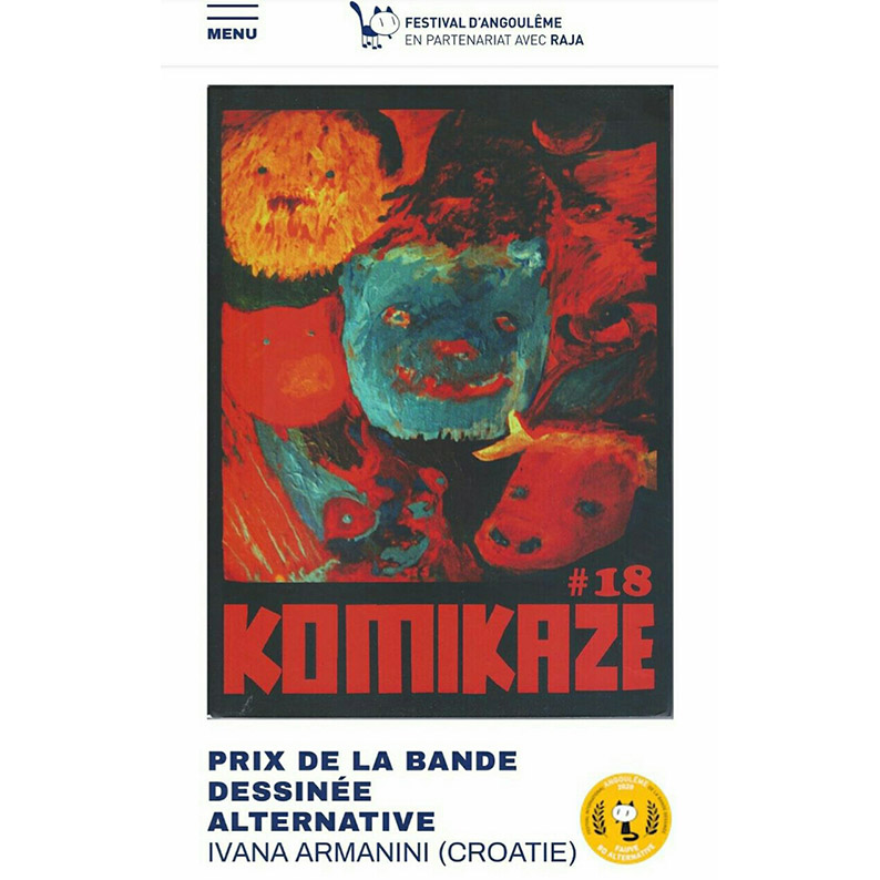 KOMIKAZE_IVANA ARMANINI_BD PRIX ALTERNATIVE