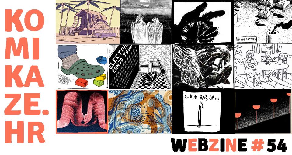 NOVO/ NEW: COMIC/ STRIP KOMIKAZE WEBZINE # 54!