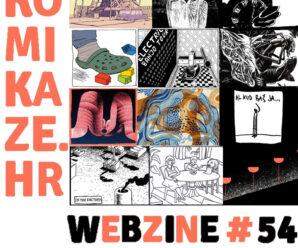NOVO/ NEW: KOMIKAZE WEBZINE # 54!