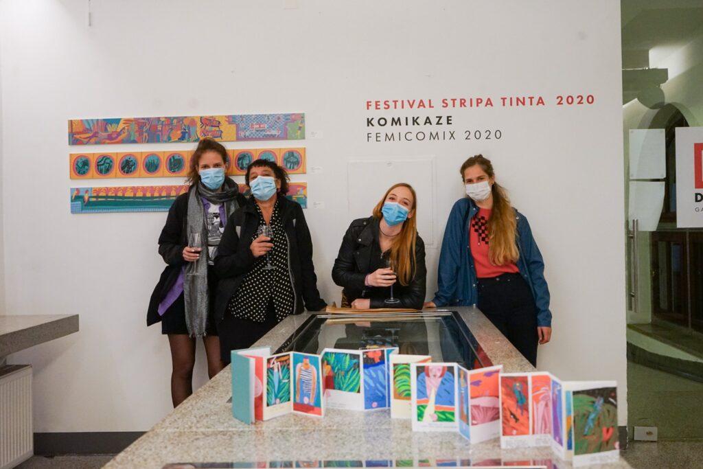 FEMICOMIX 2020 TINTA_Ena, Ivana, Nikolina, Klara