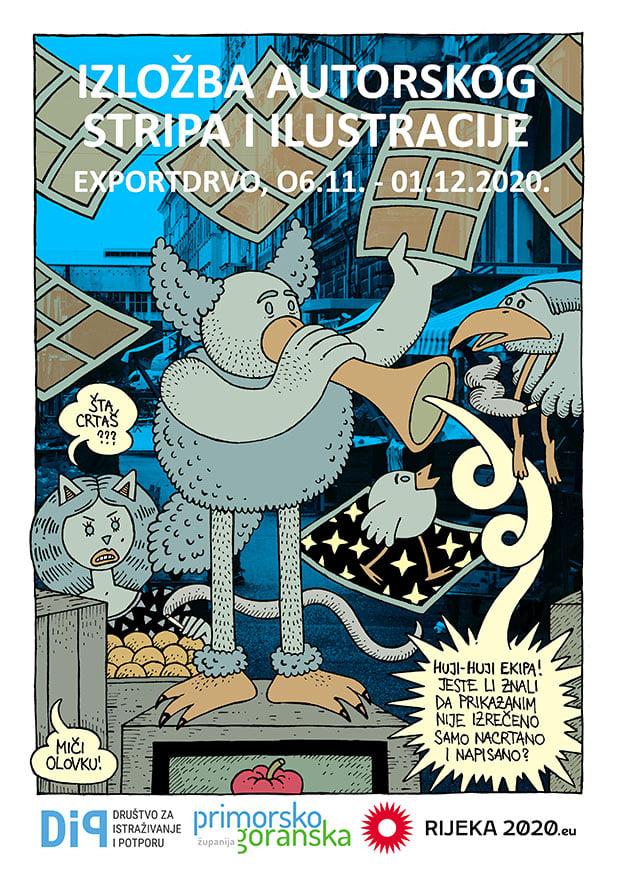 1. Kvarnerska kolonija stripa i ilustracije - Exportdrvo
