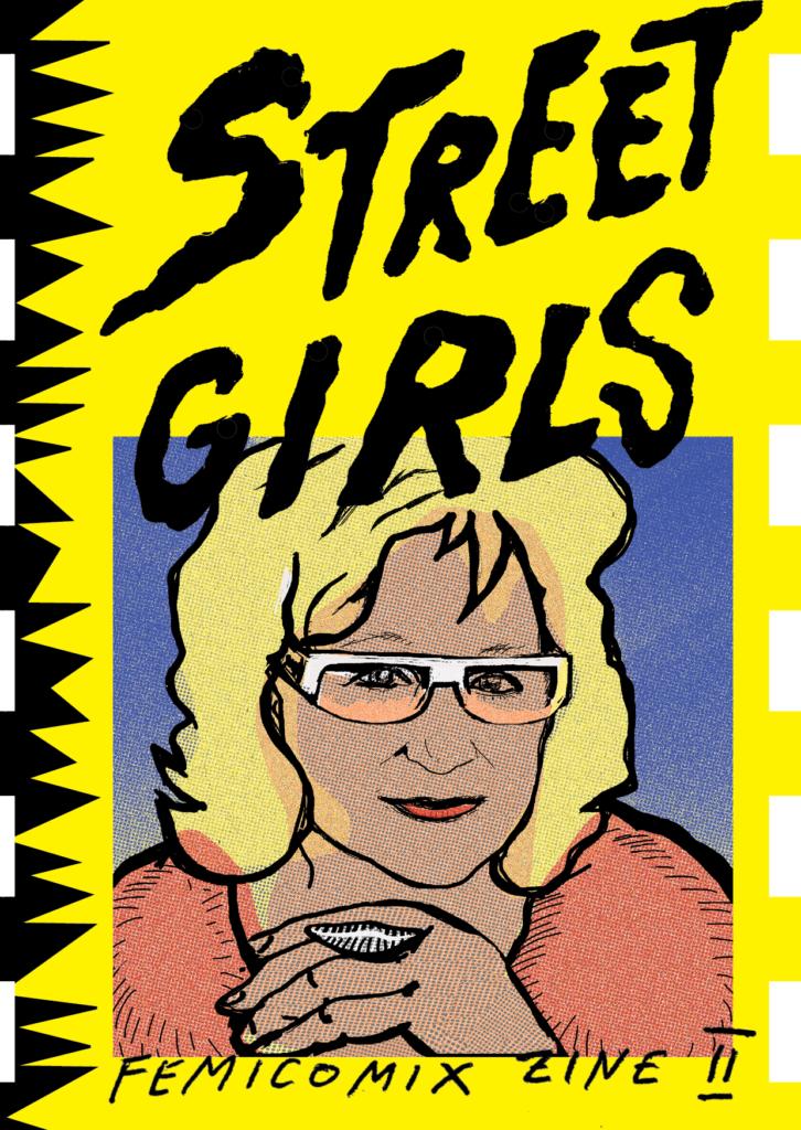 femicomix zine II: street girls_ivana armanini