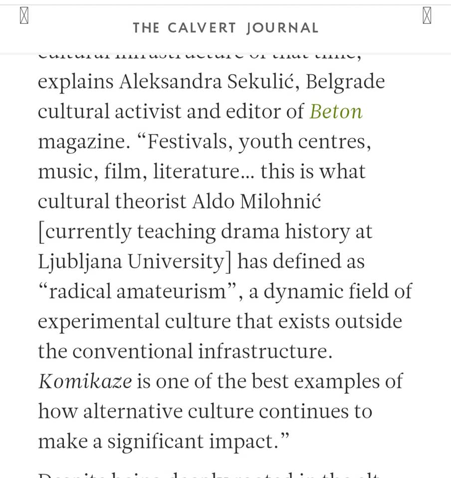 calvert journal / review