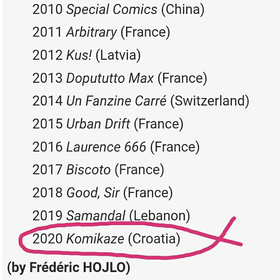 komikaze_nagrada__angouleme 2020