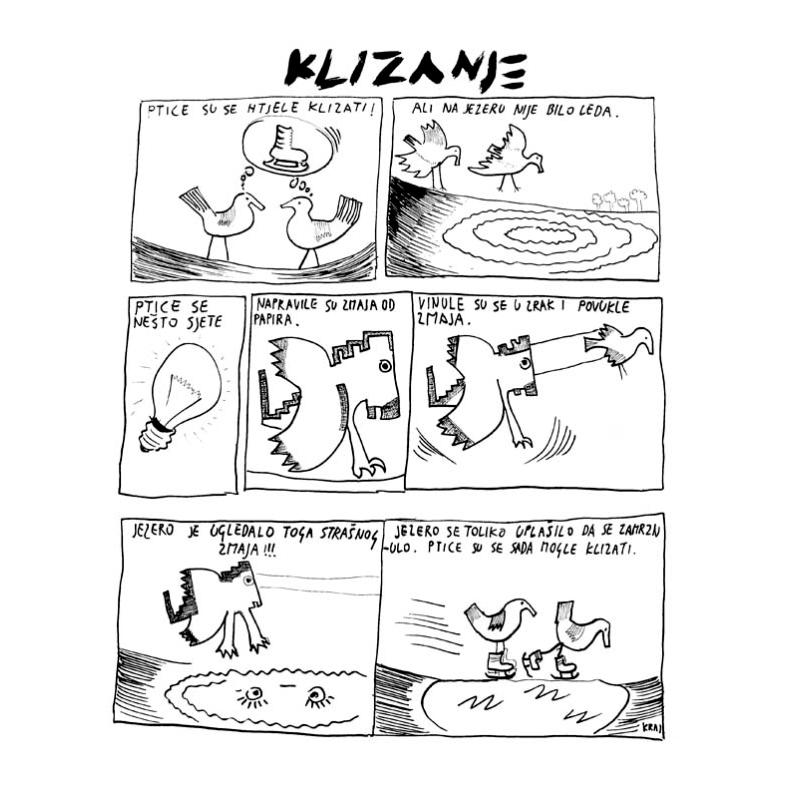 komikaze strip u gradivu za osnovnu školu