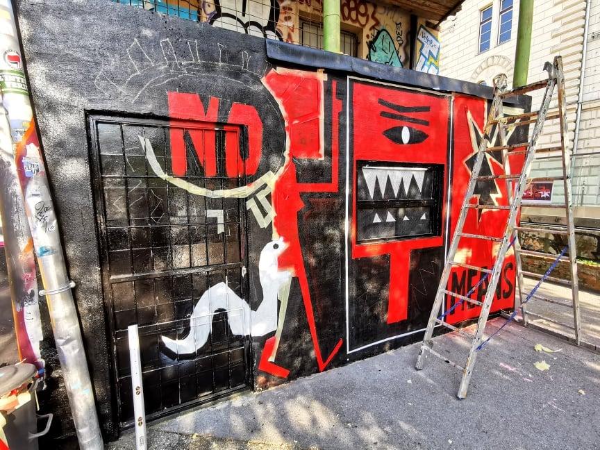 femicomix nomeansno mural metelkova mesto_la