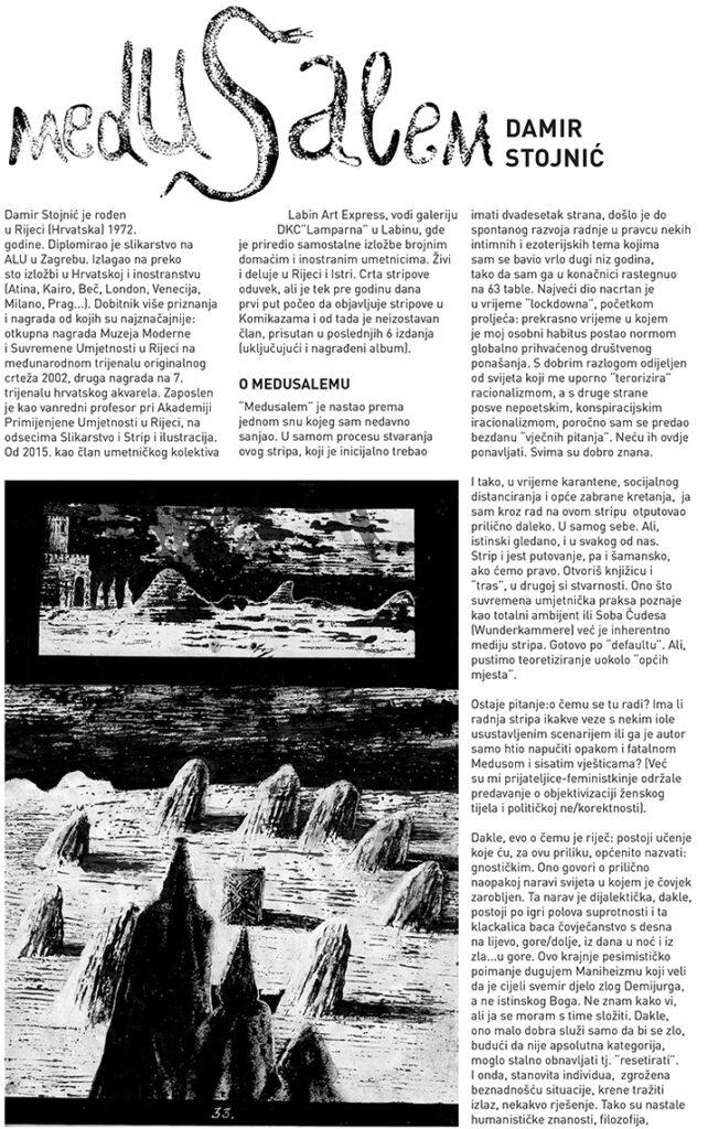 damir stojnic jubilej / medusalem tekst